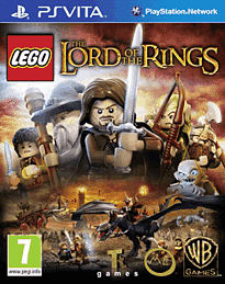 LEGO Lord of the Rings PS Vita Cover Art