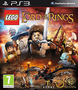 LEGO Lord of the Rings PlayStation 3 Cover Art