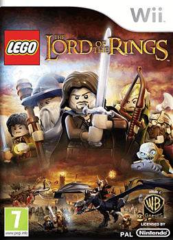LEGO Lord of the Rings Wii Cover Art