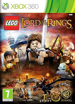LEGO Lord of the Rings Xbox 360 Cover Art
