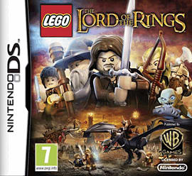 LEGO Lord of the Rings DSi and DS Lite Cover Art