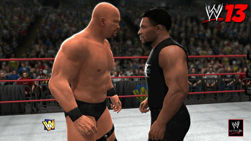 Recreate the Attitude Era in WWE 13 on Xbox 360, PS3 and Wii at GAME
