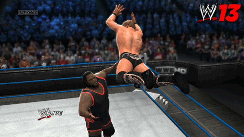 Today's top superstars in WWE 13 on Xbox 360, PS3 and Wii at GAME