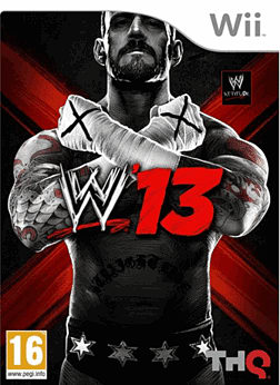 WWE 13: Mike Tyson Edition Wii Cover Art