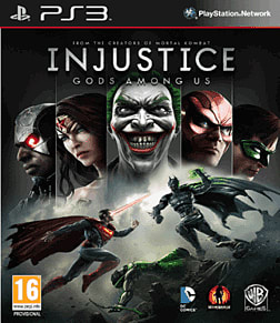 Injustice: Gods Among Us PlayStation 3 Cover Art