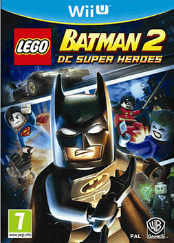 LEGO Batman 2: DC Super Heroes Wii U Cover Art
