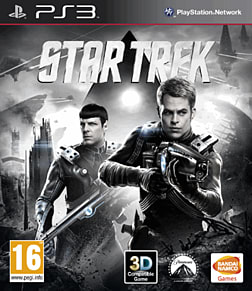 Star Trek - The Video Game PlayStation 3 Cover Art