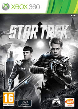 Star Trek - The Video Game Xbox 360 Cover Art