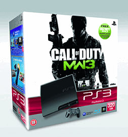 PlayStation 3 320GB Slim with Call of Duty: Modern Warfare 3 including Collections 1 and 2 PlayStation 3