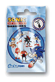 Sonic and Friends Danglers Toys and Gadgets