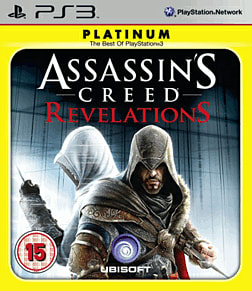 Assassin's Creed: Revelations (Platinum) PlayStation 3 Cover Art