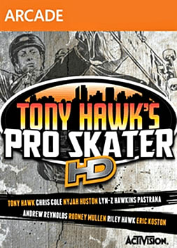 Tony Hawk Pro Skater HD Xbox Live Cover Art