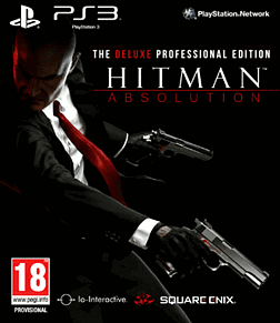 Hitman Absolution: Deluxe Professional Edition PlayStation 3 Cover Art