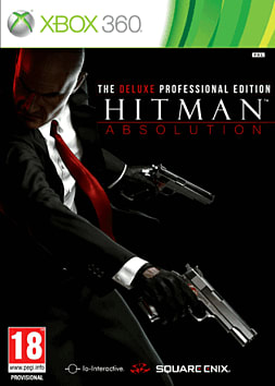 Hitman Absolution: Deluxe Professional Edition Xbox 360 Cover Art