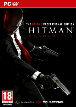 Hitman Absolution: Deluxe Professional Edition PC Games Cover Art