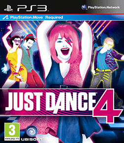 Just Dance 4 PlayStation 3 Cover Art