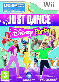 Just Dance: Disney Wii Cover Art