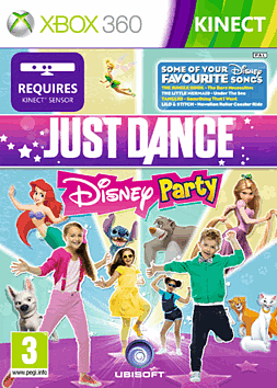 Just Dance: Disney Xbox 360 Kinect Cover Art