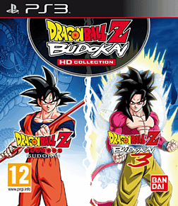 Dragon Ball Z: Budokai HD Collection PlayStation 3 Cover Art