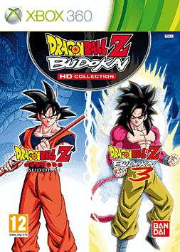 Dragon Ball Z: Budokai HD Collection Xbox 360 Cover Art