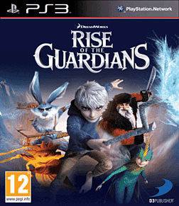 Rise of the Guardians: The Video Game PlayStation 3 Cover Art