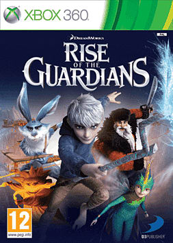 Rise of the Guardians: The Video Game Xbox 360 Cover Art