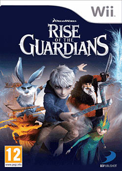 Rise of the Guardians: The Video Game Wii Cover Art