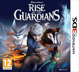 Rise of the Guardians: The Video Game 3DS Cover Art
