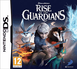 Rise of the Guardians: The Video Game DSi and DS Lite Cover Art