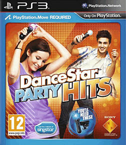 DanceStar Party Hits PlayStation 3 Cover Art