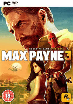 Max Payne 3 PC Games Cover Art