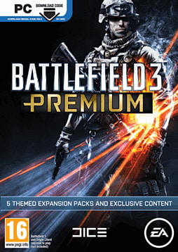 Battlefield 3 Premium PC Games Cover Art