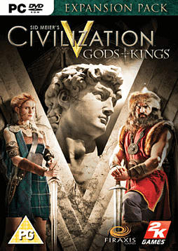 Sid Meiers Civilization V: Gods & Kings PC Games Cover Art