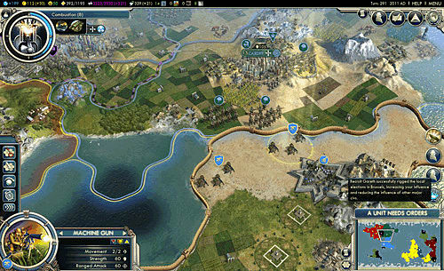 Let your land find religiion, and send a spy into another in Civilization V: Gods & kings Expansion Pack for PC at GAME
