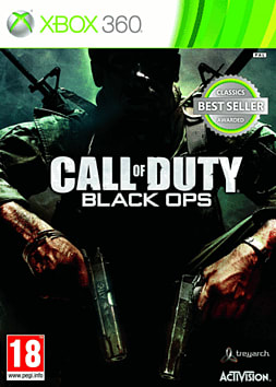 Call of Duty: Black Ops Classics Xbox 360 Cover Art