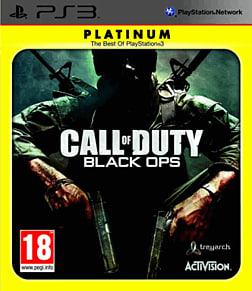 Call of Duty: Black Ops Platinum PlayStation 3 Cover Art
