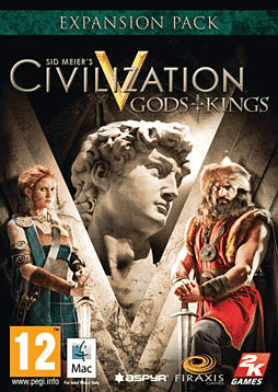 Sid Meier's Civilization V: Gods and Kings (Mac) Mac Cover Art