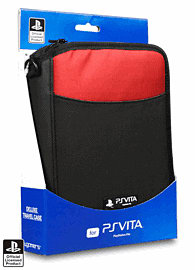 PlayStation Vita Deluxe Travel Case  - Red Accessories