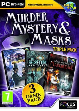 Murder, Mystery and Masks Triple Pack PC Games Cover Art
