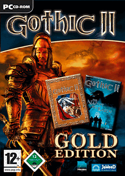 Gothic II - Gold Edition PC Games Cover Art