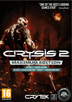 Crysis 2: Maximum Edition PC Games Cover Art