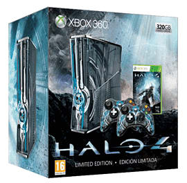 Halo 4 Limited Edition Xbox 360 320GB Console Xbox 360