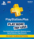 Playstation Plus 90 Day Subscription Accessories