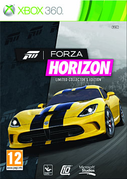 Forza Horizon Limited Collector's Edition Xbox 360 Cover Art