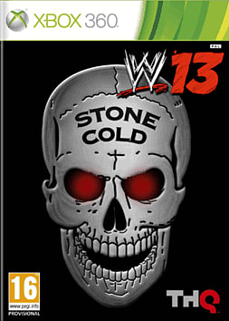 WWE 13 GAME Exclusive Austin 3:16 Collector's Edition Xbox 360 Cover Art