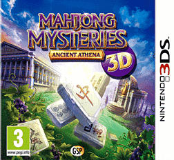 Mahjong Mysteries: Ancient Athena 3DS Cover Art