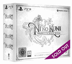 Ni no Kuni: Wrath of the White Witch Wizard's Edition Sony PS3 Cover Art