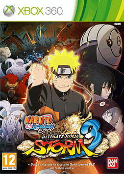 Naruto Ultimate Ninja Storm 3 Xbox 360 Cover Art
