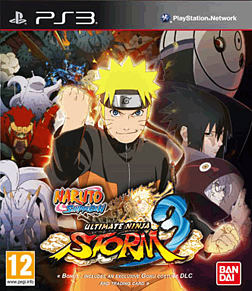 Naruto Ultimate Ninja Storm 3 D1 Edition PlayStation 3 Cover Art