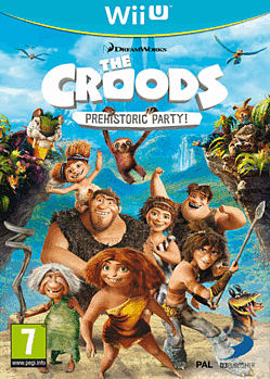 The Croods: Prehistoric Party! Wii U Cover Art